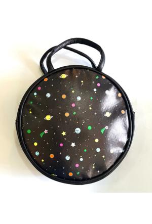Köstebek Yıldız Galaxy Yuvarlak Çanta Kypç031