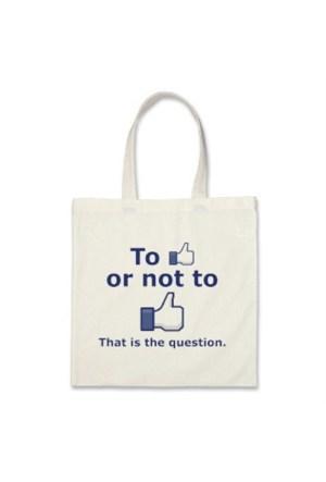 BuldumBuldum To Like Or Not To Like Bag - Beğenmek Ya Da Beğenmemek Çantası