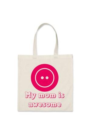 BuldumBuldum Mükemmel Annem - Kanvas Çanta