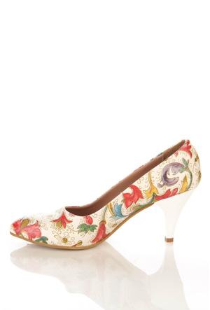 Los Ojo Ysn 006 Kısa Stiletto Kadın Topuklu Ayakkabı