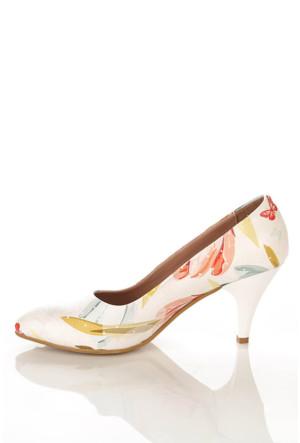 Los Ojo Ysn 007 Kısa Stiletto Kadın Topuklu Ayakkabı