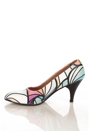 Los Ojo Ysn 019 Kısa Stiletto Kadın Topuklu Ayakkabı