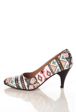 Los Ojo Ysn 022 Kısa Stiletto Kadın Topuklu Ayakkabı