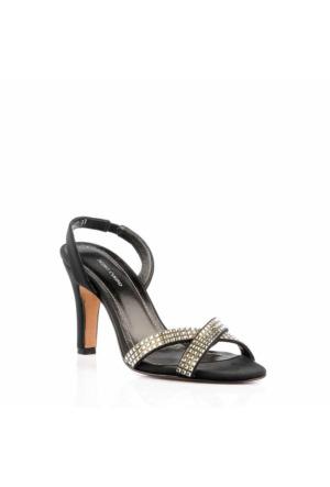 Pedro Camıno Bayan Klasik Ayakkabı 88021 Siyah