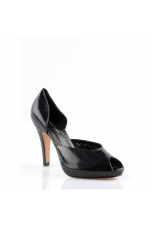 Pedro Camıno Bayan Klasik Ayakkabı 88102 Siyah
