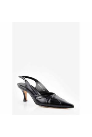 Pedro Camıno Bayan Klasik Ayakkabı 88107 Siyah
