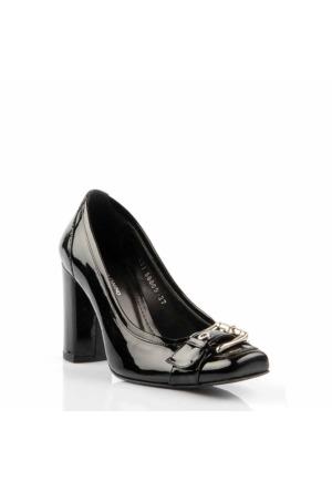 Pedro Camıno Bayan Klasik Ayakkabı 88805 Siyah