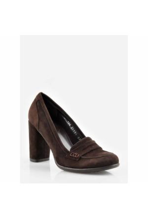 Pedro Camıno Bayan Klasik Ayakkabı 89894 Kahve