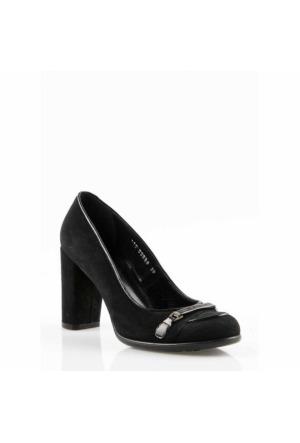 Pedro Camıno Bayan Klasik Ayakkabı 89898 Siyah