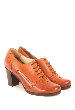 Gön Deri Kadın Ayakkabı 13010
