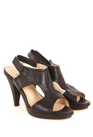 Gön Deri Kadın Sandalet 15577