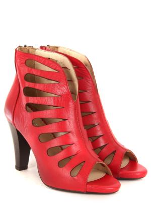 Gön Deri Kadın Sandalet 23118
