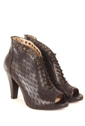 Gön Deri Kadın Sandalet 23119