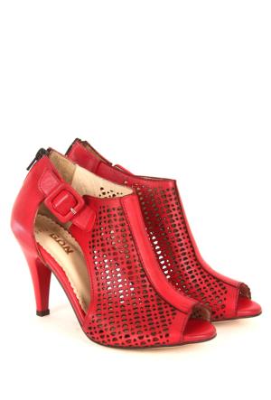 Gön Deri Kadın Sandalet 25853