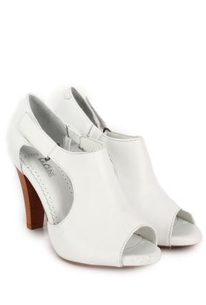 Gön Deri Kadın Sandalet 25959