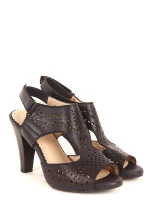 Gön Deri Kadın Sandalet 26009
