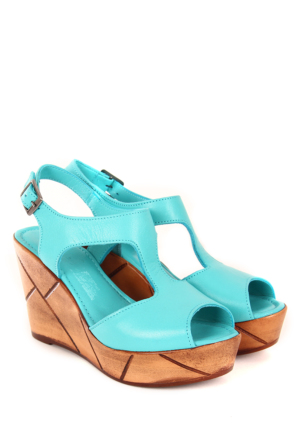 Gön Deri Kadın Sandalet 45104