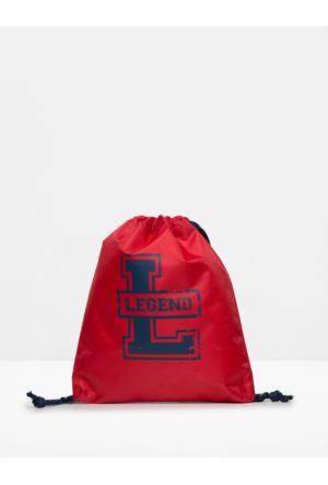 Koton Kids Erkek Çocuk Baskılı Çanta Kırmızı