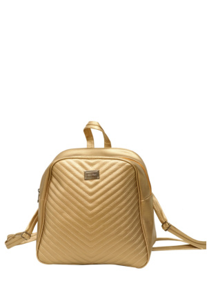 Güzel Çanta Altın Bayan Sırt Çantası-200