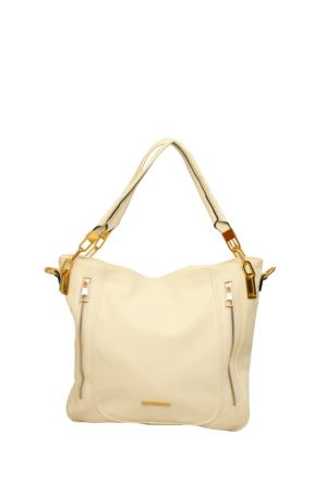 Nas Çanta Beyaz Bayan El Çantası-549