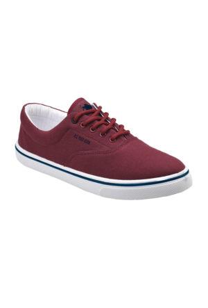 U.S. Polo Assn. A3352710 Bordo Erkek Sneaker Ayakkabı