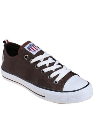 U.S. Polo Assn. Penelope Kahverengi Kadın Sneaker