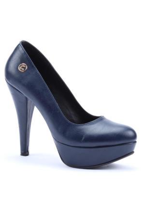 Cudo Cilt Platform Topuk Kadın Ayakkabı