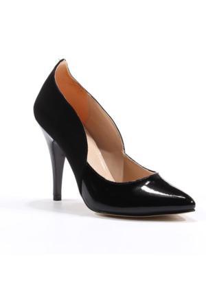 Asm Abiye Stiletto Süet Kadın Ayakkabı