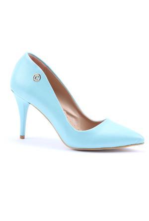 Cudo Stiletto Cilt Topuklu Ayakkabı
