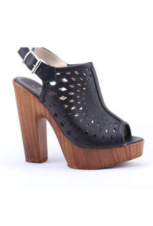 Armoni 103 Günlük 12,5Cm Abiye Platform Topuklu Kadın Sandalet