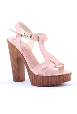 Armoni 105 Günlük 12,5Cm Abiye Platform Topuklu Kadın Sandalet