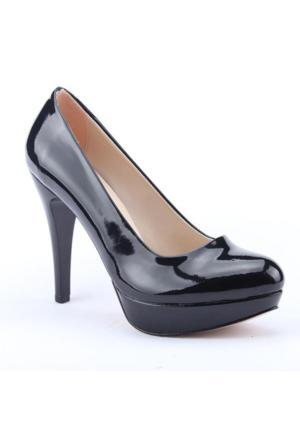 Asm 2000 Platform Topuk Rugan 11Cm Abiye Kadın Ayakkabı