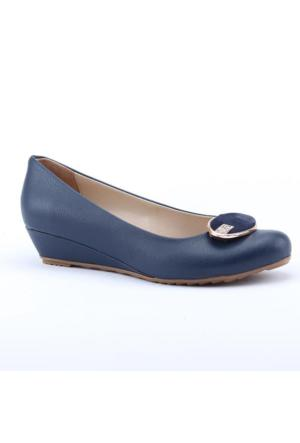 Asm 2600 Günlük 3Cm Dolgu Topuk Ortapedik Kadın Babet Ayakkabı
