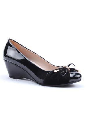 Asm 3001 Dolgu Topuk Rugan Kadın Ayakkabı