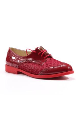 Asm Günlük Stiletto Rugan Bayan Klasik Ayakkabı