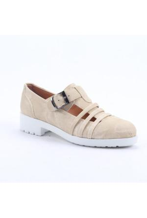 Cudo 31628 Günlük Ortopedik Topuklu Kadın Ayakkabı