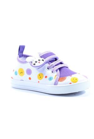 Gezer 8168 Keten Cırtlı Kız Çocuk Spor Ayakkabı