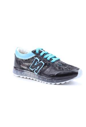 Hatuny 5721 Günlük Yürüyüş Koşu Ortopedik Kadın Spor Ayakkabı