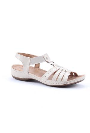 Jump 10711-C Günlük Ortopetik Kadın Sandalet