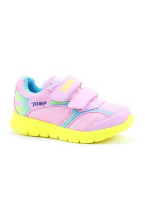 Jump 13603 Günlük Koşu Faylon Taban Fileli Kız Çocuk Spor Ayakkabı