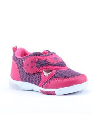 Jump 13604 Günlük Fileli Işıklı Cırtlı Kız Çocuk Spor Ayakkabı