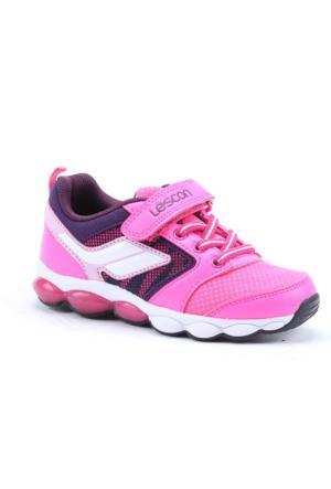 Lescon L-3733 Fileli Günlük Yürüyüş Kız Çocuk Spor Ayakkabı