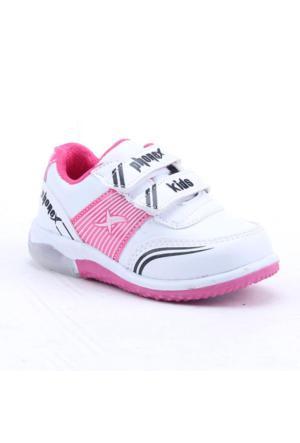 Phonex Ks29 Günlük Işıklı Ortopedik Kız Çocuk Spor Ayakkabı