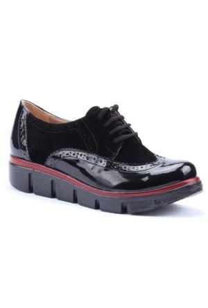 Rachel Günlük Kalın Taban Bağcıklı Kadın Ayakkabı