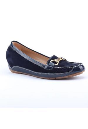 Smyrna 2500 Günlük Gizli Topuk Ortapedik Kadın Babet Ayakkabı