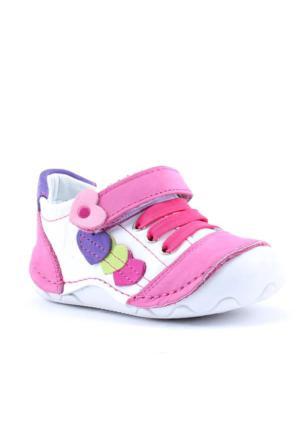 Teo 2200 %100 Deri Ortopedik Günlük Kız Çocuk Ayakkabı