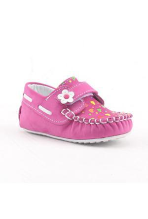 Teo 2400 %100 Deri Ortopedik Cırtlı Kız Çocuk Ayakkabı