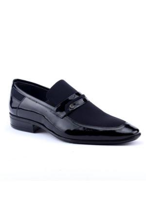 John Paul 1013 %100 Deri Abiye Damatlık Klasik Erkek Ayakkabı