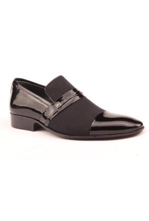 John Paul 1028 %100 Deri Abiye Damatlık Klasik Erkek Ayakkabı