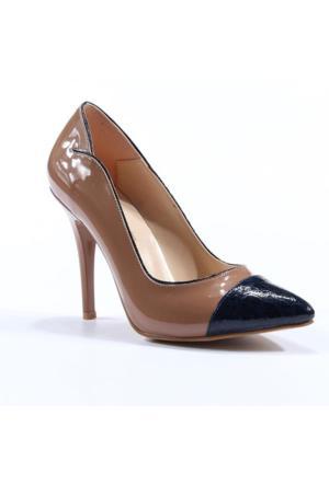 Topuz Stiletto Kalem Topuk Ayakkabı